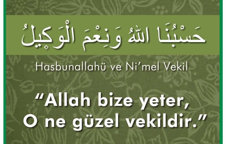 Allah Bize Yeter